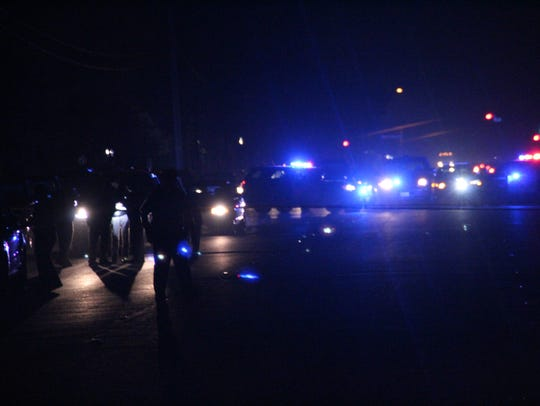 Salinas police investigate a shooting on Russell Road