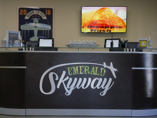 Salinas' first recreational marijuana dispensary opened Friday.