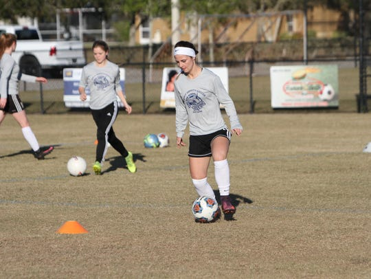 Oasis senior Alyssa Abbondandolo, a FGCU commit, will
