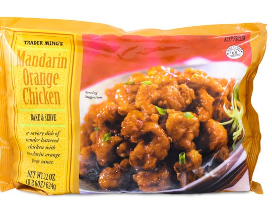 Mandarin Orange Chicken is the overall customer choice