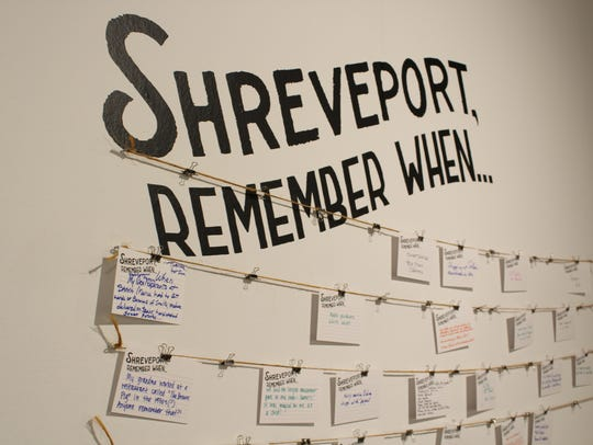 """The """"Glimpse of Shreveport"""" includes an interactive"""
