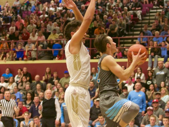 Canyon View defeated Cedar 55-36 Wednesday.