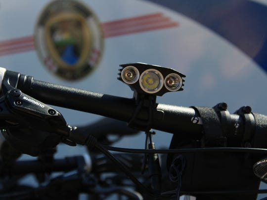 The new 2018 Police Trek bikes come equipped with special