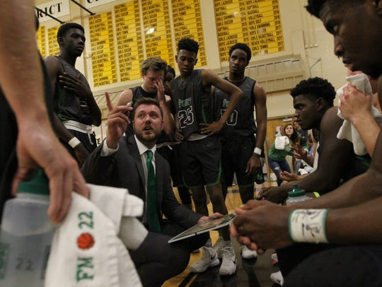 Scenes from Fort Myers at Bishop Verot boys basketball