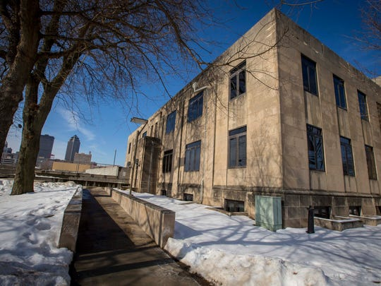 Des Moines is seeking developer interest in the city-owned Argonne Armory Building shown here Wednesday, Feb. 14, 2018, that is located along the Des Moines Riverfront and in the thriving East Village Neighborhood of Downtown Des Moines.