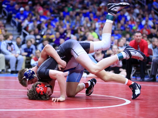 Lisbon's Cobe Siebrecht is a two-time state finalist with more than 150 career wins. The senior announced his commitment to Iowa on Thursday morning.