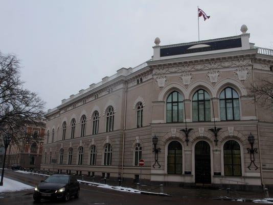 EPA LATVIA CENTRAL BANK CURROPTION INVESTIGATION EBF FINANCIAL & BUSINESS SERVICES LVA