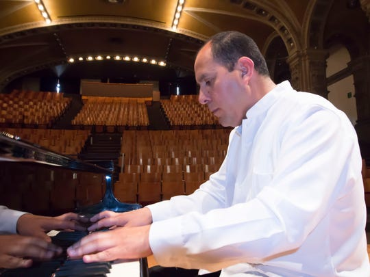 """Dr. Martin Camacho will perform Grieg's Piano Concerto in A minor with the Wichita Falls Symphony Orchestra at 7:30 p.m. Saturday at Memorial Auditorium. The program is titled """"Romantic Masterpieces"""""""