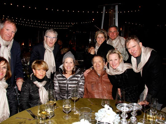 Back Row (L) Gary Schulze, Steve Koehler, Julia and Randall Burt Front (L) Mimi Schulze, Carol Koehler, Cindy and Chuck Henderson, and Cheryl and Bruce Korter .