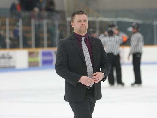 SPASH graduate Tyler Krueger has led the University of Wisconsin-Stevens Point men's hockey team to the Wisconsin Intercollegiate Athletic Conference regular season championship in his first season as the Pointers head coach.