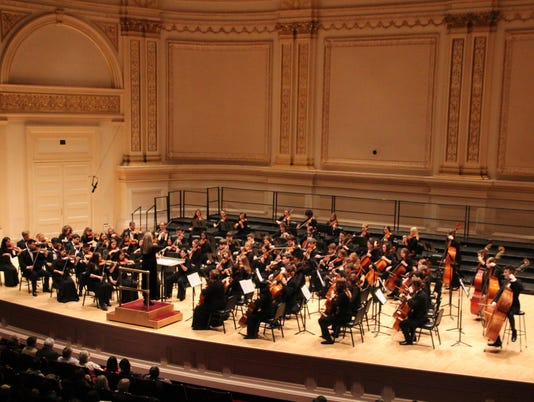 Homestead, Shorewood Students in Carnegie Hall