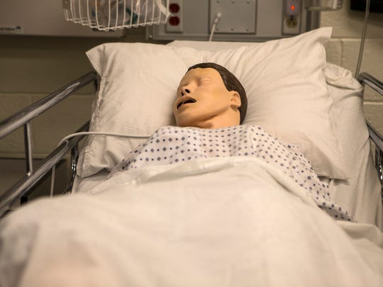 The University of Delaware Healthcare Theatre Program gives nursing students an emotional and realistic response training mannequins cannot.