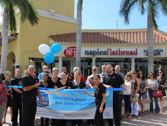 Blue Zones Naples Flatbread