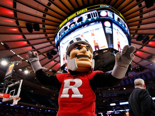 No, we didn't know Rutgers' Scarlet Knight was named Sir Henry, either.