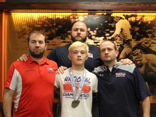 Wakulla sophomore Matthew Owen placed sixth at 120 pounds in the Class 1A state wrestling tournament in Kissimee.