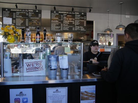 Boardwalk Sub Shop has opened in Salinas on South Main Street.