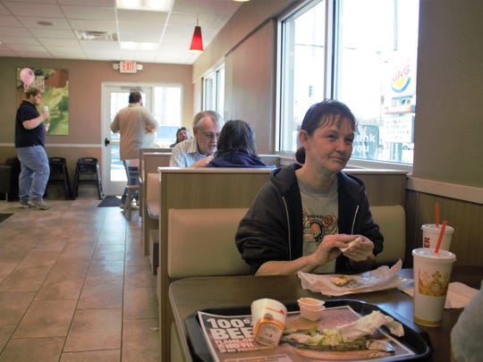 Angela Griffith, a Burger King regular, didn't know
