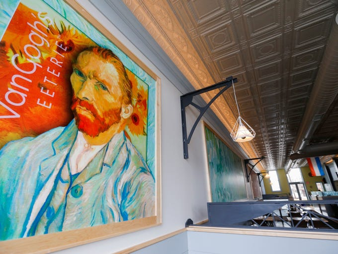 Van Gogh's Eeterie, at 334 E. Commercial St., will