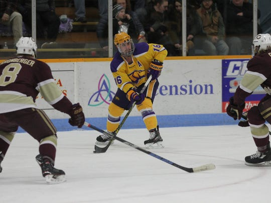 UWSP junior Tanner Karty was named the WIAC Player