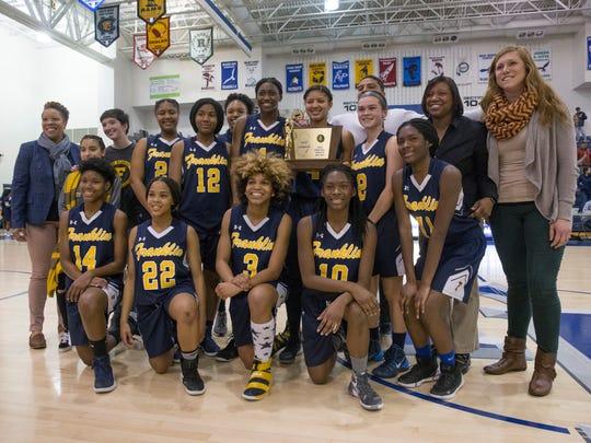 Franklin Girls Basketball vs Toms River North  in NJSIAA