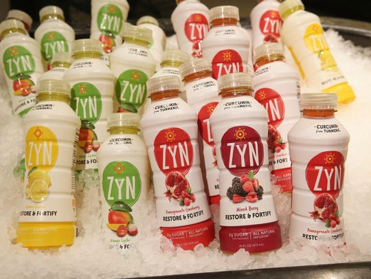 ZYN is a curcumin-infused beverage. Milwaukee brothers