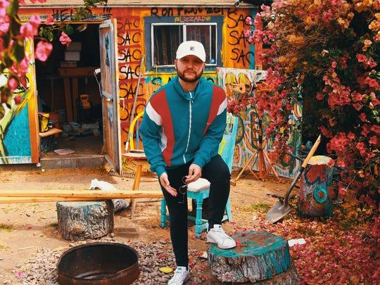 Michigan musician Quinn XCII, 2018