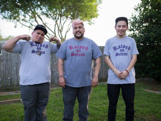 Tony Maldonado (from left), Svani Quintanilla, and