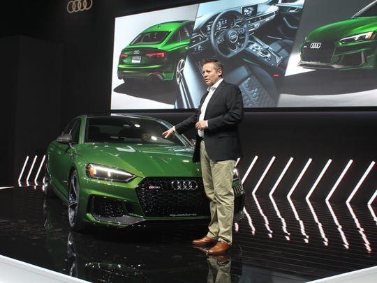 Michael-Julian Renz unveils the RS 5 Sportsback ahead