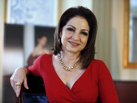 Entrevista de Efe con Gloria Estefan