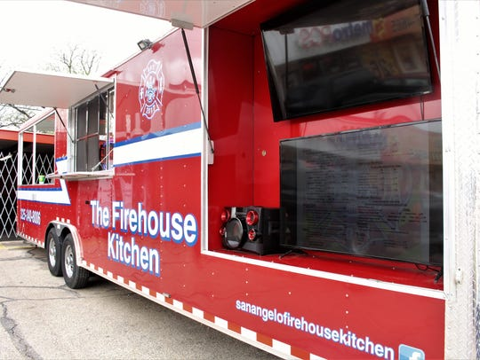 The Firehouse Kitchen food truck is at 2013 S. Bryant Blvd.