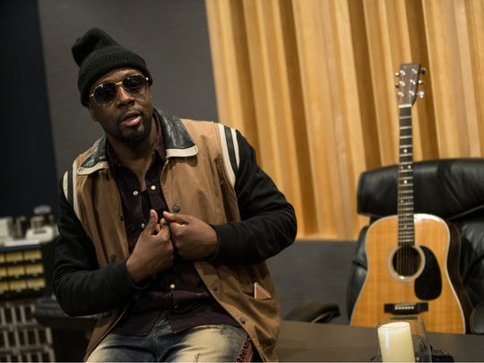 Musician Wyclef Jean drops in to Lakehouse Music Academy to talk with members of the Asbury Park Music Foundation. Wyclef spent a few hours with the kids discussing his career, creating music, and offered advice of how to be successful in life. Asbury Park, NJTuesday, February 27, 2018@dhoodhood