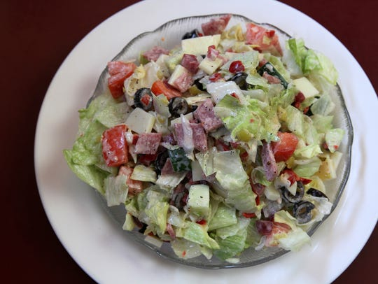 Everyone loves Tuzzio's salad.