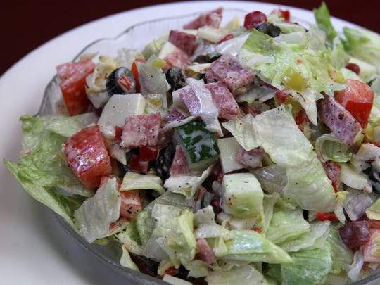 Whatever you want to call it, Tuzzio's salad has been