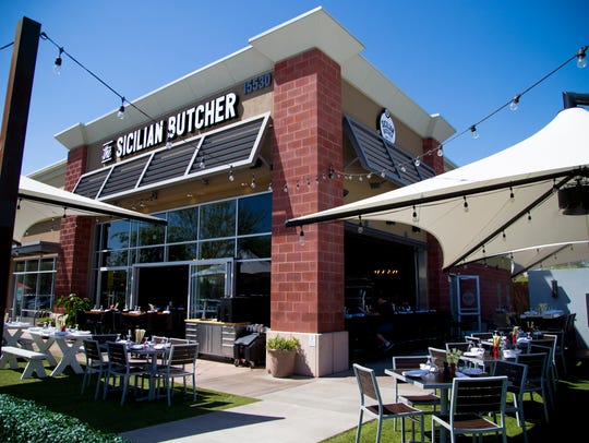 The exterior of The Sicilian Butcher in Phoenix on