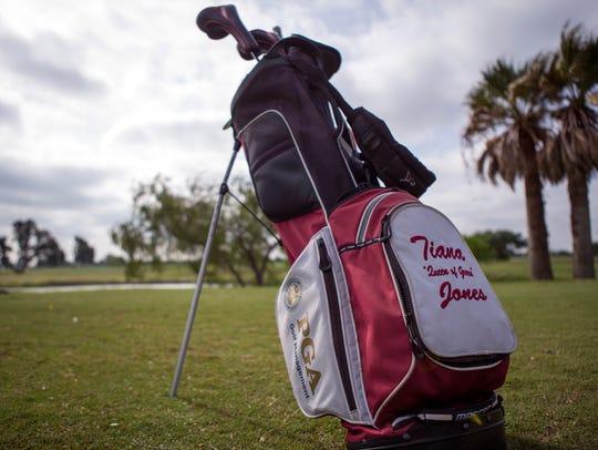 Tiana Jones, Lozano Golf Center's new PGA golf professional,
