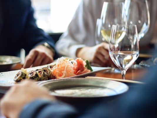Sushi and scotch