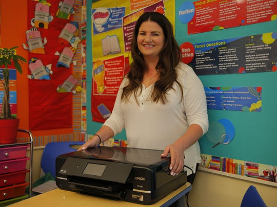 Jennifer Figliomeni of Monte Bella Elementary School