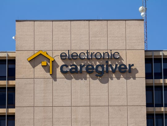 An Electronic Caregiver now graces the exterior of