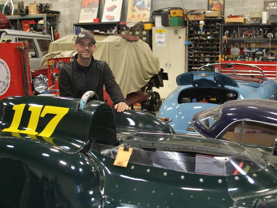 Specializing in European sports cars, Graham Long's preservation and mechanical restoration skills keep his Clifton, NJ shop busy with projects.