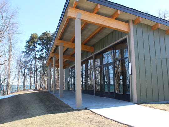 Monroe County's latest lodge in Webster Park