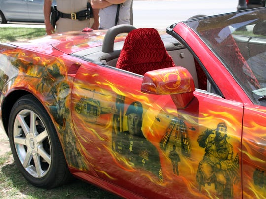 This customized paint job was done in tribute to Vietnam