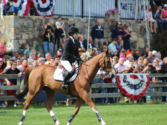 The American Gold Cup at the Old Salem Farm in North