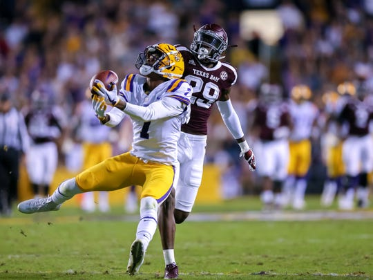 D.J. Chark's old LSU teammate, Bills cornerback Tre'Davious White, said Chark is the most underrated prospect in the draft.