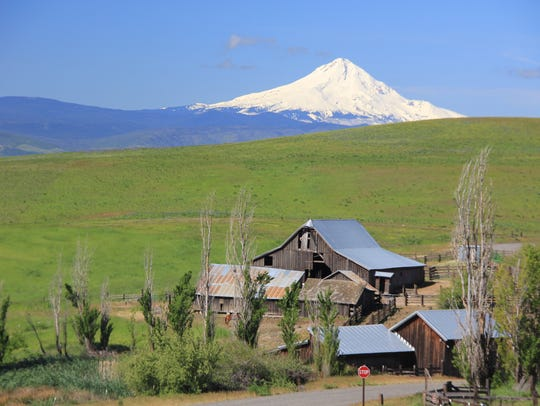 The Dalles Mountain Ranch at Columbia Hills State Park.