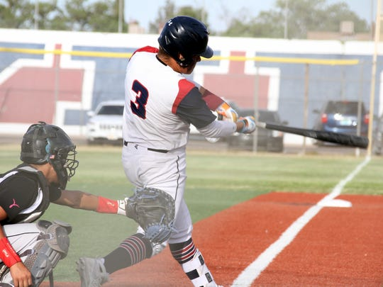 Junior Robert Ruiz drove home the Wildcat's first run with a sharp single in the bottom of the first inning in a 4-0 victory over the Chaparral Lobos.