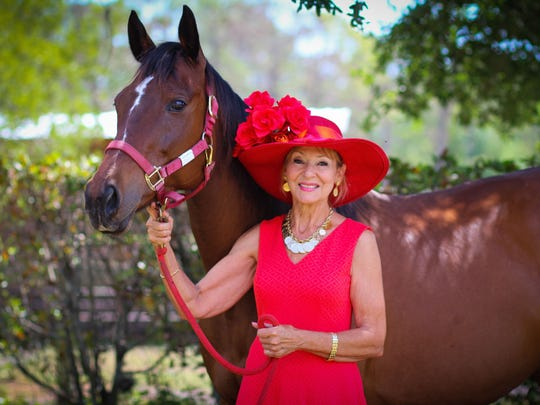 Dolores Kennedy, a volunteer with the Equine Rescue
