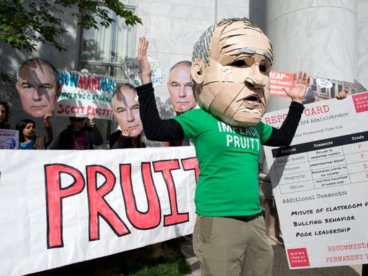 EPA USA EPA PRUITT CONGRESS POL GOVERNMENT USA DC