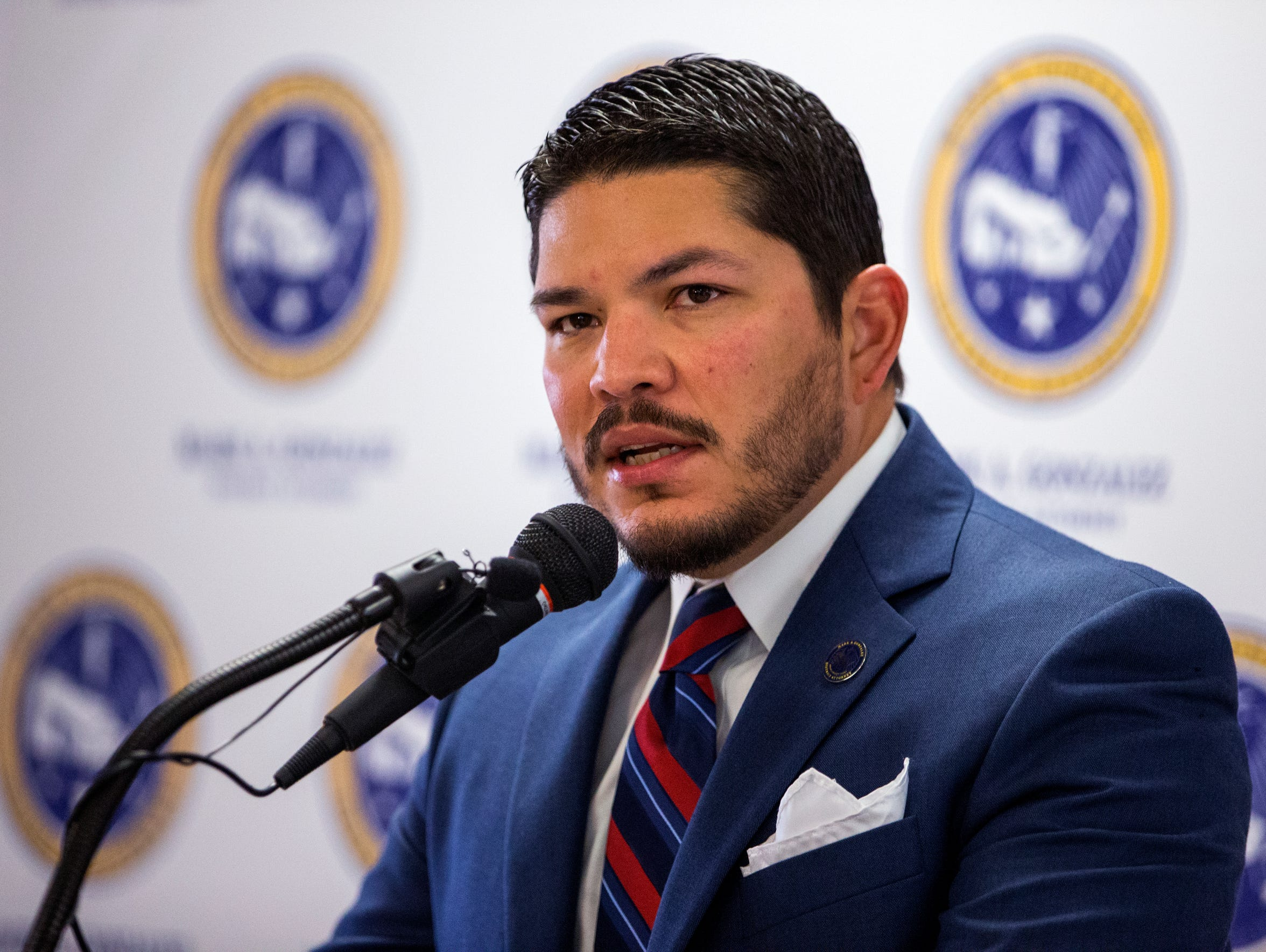 Nueces County District Attorney Mark Gonzalez said