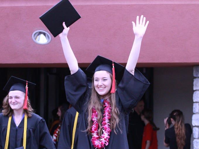 Simpson University honored 150 graduates on Saturday