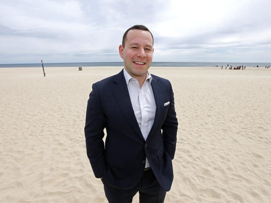 Scott J. Greenberg, owner of SJG Private Wealth Management in Point Pleasant  Beach,NJ.  Monday, April 30, 2018.  Noah K. Murray-Correspondent Asbury Park Press